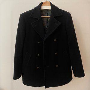 Tallia Navy Blue Double Breasted Pea Coat